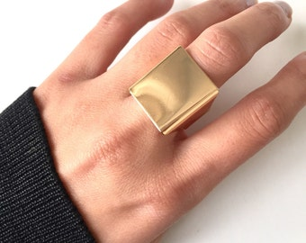 Oversized square ring