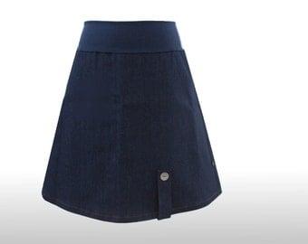 Jeans skirt 40 A line - denimskirt - a line skirt