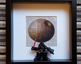 Star Wars Box Frames with Characters