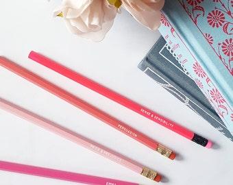 Jane Austen pencils