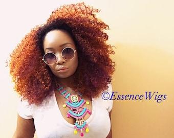 Essence Wigs Gorgeous 'CopPer-Fect ' Big Curly Wig Unit Copper colored unit