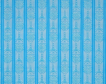 Anna Maria Horner's pattern Woven Loominous Seedlings in the color Aqua for Free Spirit - 1 yard cut