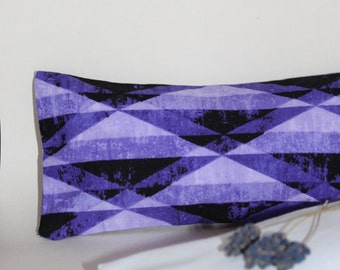 Relaxing Lavender Eye Pillow with Removable Cover Petite