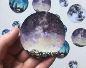 Watercolour Sky Sticker
