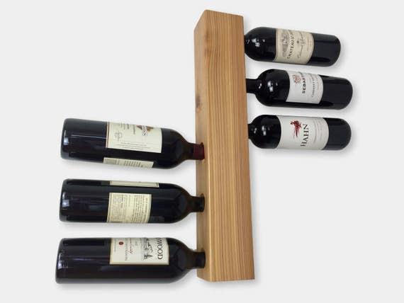Wine Racks For Home: Wall Mount Wine Rack Modern Home Decor & Wine Storage