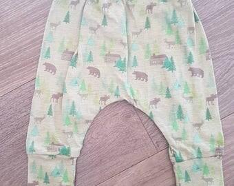 Woodlands Baby Harem Pants