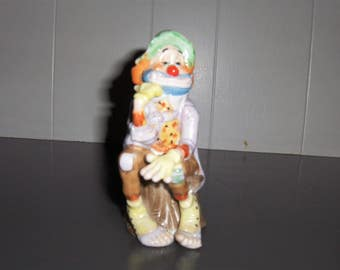 Limited Edition Circus Clown Figurine
