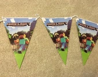 Minecraft Inspired Banner