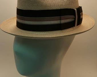 Vintage Churchill Straw Hat