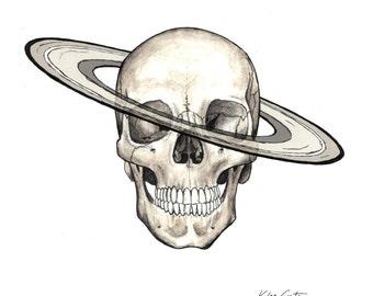 Saturn Skull