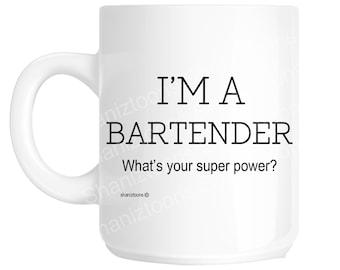 Bartender Funny Gift Mug shan1108