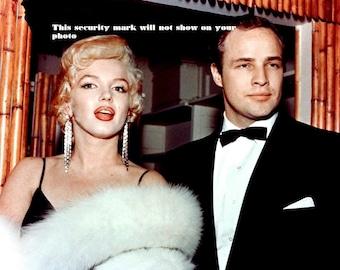 MARILYJN MONROE With Marlon Brando