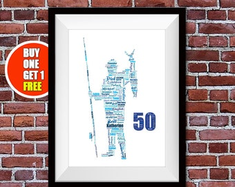 Fisherman,  fish, fishing present, fishing gift, 50th, 60th or 70th  fisherman