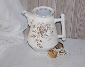 Dream beauty, old pot as a decoration or flower vase