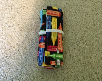 Crayon Roll Holder