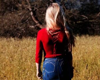 The Plain Jane Highwaisted Denim Skirt