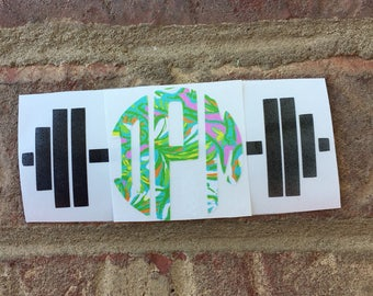 Barbell Decal Sale