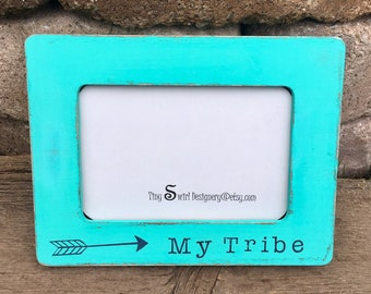 My tribe, my tribe picture frame, best friends picture frame, personalized best friends gift, gifts for best friends, custom picture frame