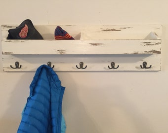 Pocket Entryway Shelf