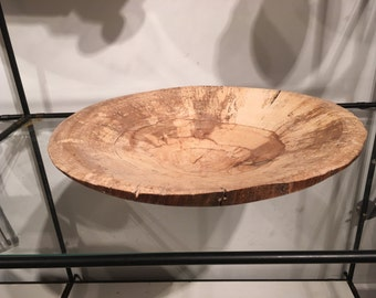 Bowl - Spalted beech natural edge bowl