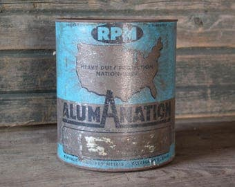 Alum-A-Nation metal can