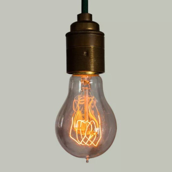 Edison Filament Bulb - Quad loop