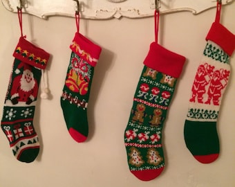 "Shop ""knitted christmas stocking"" in Clothing"