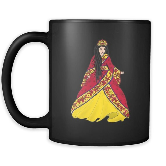 Princess Lea Coffee Mug Asian Princess Best Gift Ideas