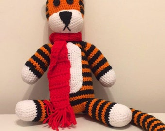 Crochet Stuffed Hobbes