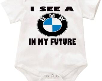 I see a BMW in my future Onesie romper creeper Bodysuit