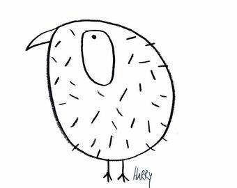 "Image ""Unshaven bird"" - eDITION good spirits"