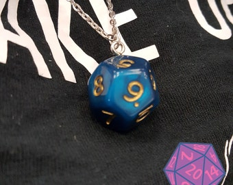 Dungeons and Dragons D&D D12 Necklace