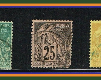 French Colonies - 1880s