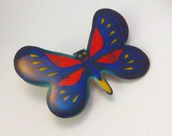 Vintage, enamel, butterfly brooch, butterfly pin, vintage butterfly brooch, vintage butterfly pin, butterfly scatter pin, butterfly pins