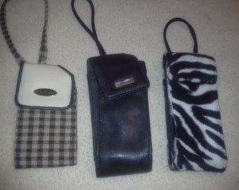 vintage cellphone cases total 3