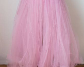 Handmade Pink Tulle Skirt for Photography