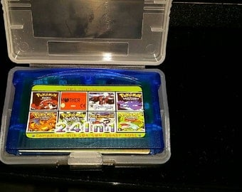 Gameboy Advance, SP, Older DSI : GBA Multi cart