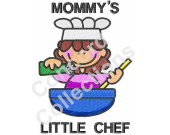 Chef Machine Embroidery Design