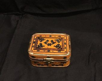 Tiny Vintage Trinket Box