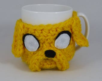 Jake the Dog (Adventure Time) mug cozy