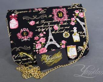Fabric bag | Fabric handbag | Elegant handbag | crossbody bag | shoulder bag | Crossbody purse | cross body bag | Small cross body bag