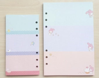 Planner Inserts | My Melody | A5 A6