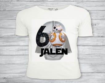 Star wars t-shirt, iron on transfer, Star wars tshirt, Star wars party, Star wars birthday- Printable