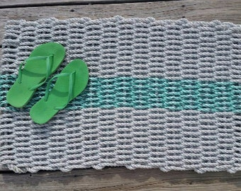 STRIPE Lobster rope mat