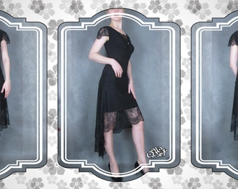Tango dress with lace. Latin dance dress for performances and competitions. Original handmade. Made in a single copy. Free shipping