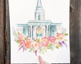 Lds Orlando Florida Temple Print