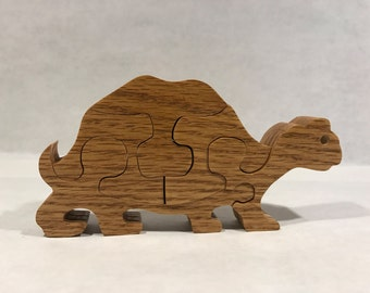 Wooden Puzzle  Small Turtle