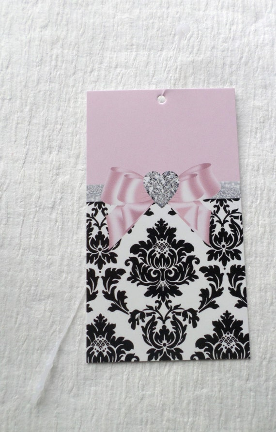 100 fashion boutique tags clothing tags price tags cute damask for Boutique labels clothing
