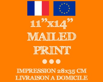 """11x14"""" Print (28x35cm) - Get your printable art mailed to you from Nature Love Art! Delivery FRANCE and EUROPE"""