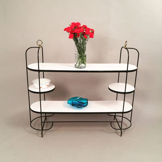Vintage buffet/shelving unit with 3 tiers
